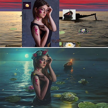 tutorial photoshop indonesia, inspirasi desain, max asabin
